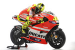 Valentino Rossi, Ducati, with the Ducati Desmosedici GP11