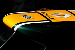 Team Lotus front wing detail