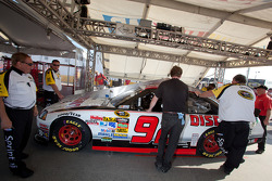 Car of Brian Keselowski, Keselowski Dodge at technical inspection