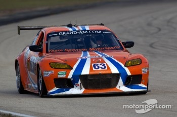 #63 Team Spencer Motorsports Mazda RX-8: Richard Grupp, Owen Trinkler
