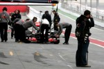 Photographer in the pitlane