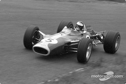 Jim Clark won six pole positions with the new Ford DFV engine in its nine races of 1967; his teammate, Graham Hill, won the other three, including the first race in Holland