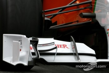Force India F1 Team front wing detail