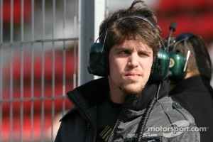 Luiz Razia, test driver, Team Lotus