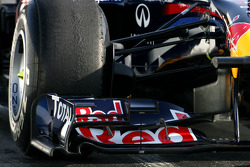 Red Bull Racing technical detail, front wing