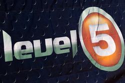 Level 5 Motorsports signage