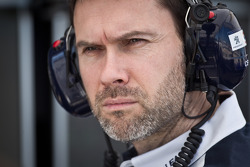 Peugeot Sport engineer Christophe Besse