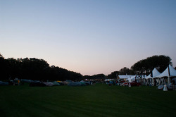 The Amelia Island Concours d'Elegance at Sunrise
