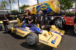 The car of Ana Beatriz, Dreyer & Reinbold Racing