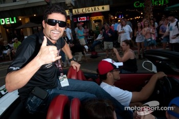 Festival of States parade: Alex Tagliani, Sam Schmidt Motorsports