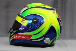 Helmet of Felipe Massa, Scuderia Ferrari
