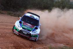 Khalid Al Qassimi and Michael Orr, Ford Fiesta RS WRC, Team Abu Dhabi