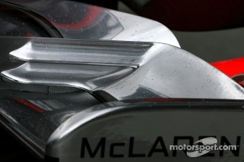 McLaren Mercedes, technical detail, front wing
