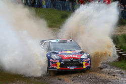 Sébastien Ogier and Julien Ingrassia, Citroen DS3 WRC, Citroen Total World Rally Team