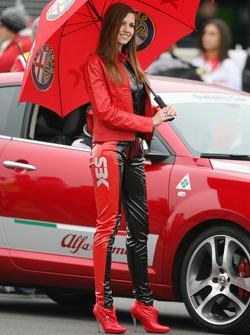Alfa Romeo girl