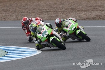 Loris Capirossi, Pramac Racing Team, Randy De Puniet, Pramac Racing Team