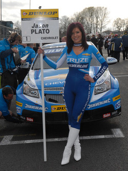 Caroline Hall, Jason Plato's Grid Girl