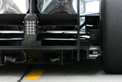 McLaren Mercedes, Technical detail, diffuser