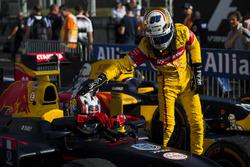 Sieger Pierre Gasly, PREMA Racing; 2. Antonio Giovinazzi, PREMA Racing