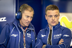 Lin Jarvis, Yamaha Factory Racing Managing Director, Alex Lowes