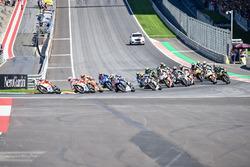Start: Andrea Iannone, Ducati Team, führt