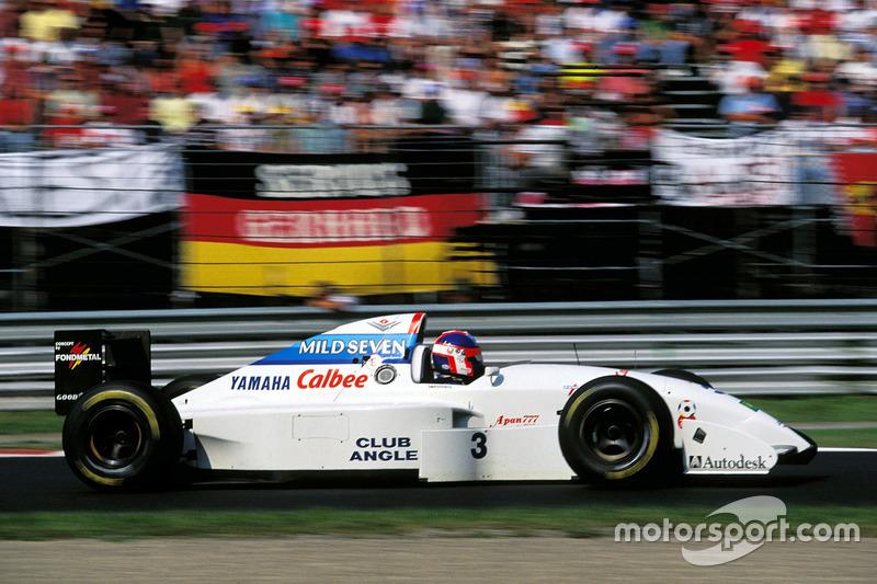 Yamaha: 1993 - 1996 Tyrrell
