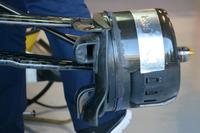 Formula 1 Foto - Sauber C35, dettaglio del cestello dei freni anteriore