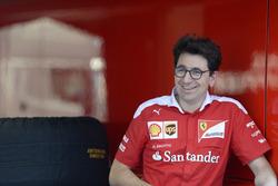 Mattia Binotto, Ferrari Race Engine Manager