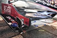 IndyCar Photos - Des dégâts sur la voiture de Graham Rahal, Rahal Letterman Lanigan Racing Honda