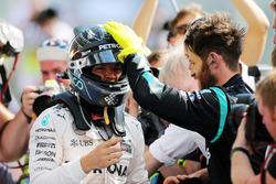 Race winner Nico Rosberg , Mercedes AMG F1 celebrates in parc ferme