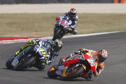 Dani Pedrosa, Repsol Honda Team, Valentino Rossi, Yamaha Factory Racing, Jorge Lorenzo, Yamaha Factory Racing