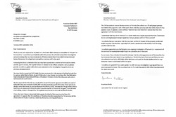 Letter to European Commissioner for Competition