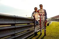 GP3 Foto - Nyck De Vries, ART Grand Prix and Jake Dennis, Arden International