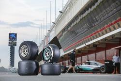Vergleich: Pirelli-Reifen für die Formel-1-Saisons 2017 und 2016