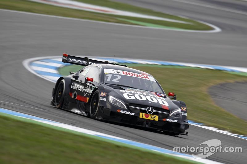 Ausfall: Daniel Juncadella, Mercedes-AMG Team HWA, Mercedes-AMG C63 DTM