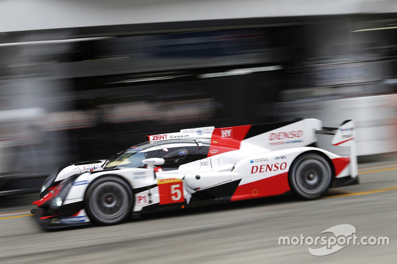 3. LMP1: #5 Toyota TS050: Sebastien Buemi, Kazuki Nakajima, Anthony Davidson