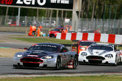 #4 Andrea Piccini, Christian Hohenadel; Aston Martin DB9; Hexis AMR; #7 Tomas Enge, Alex Muller; Aston Martin DB9; Young Driver AMR
