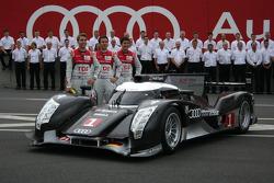 Audi Sport photoshoot: #1 Audi Sport Team Joest Audi R18 TDI: Timo Bernhard, Romain Dumas, Mike Rockenfeller