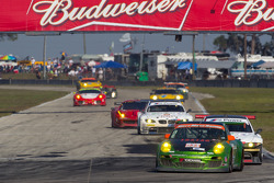 #034 Kelly Moss Racing Porsche 911 GT3 Cup: Peter LeSaffre, Andrew Davis, Bob Faieta