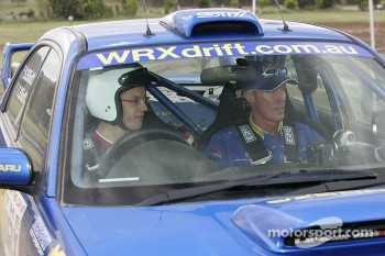 Subaru WRX experience: Sbastien Bourdais