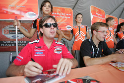 Jimmy Vasser and Sébastien Bourdais