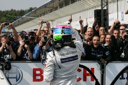 Race winner Bruno Spengler, Team HWA AMG Mercedes, AMG Mercedes C-Klasse