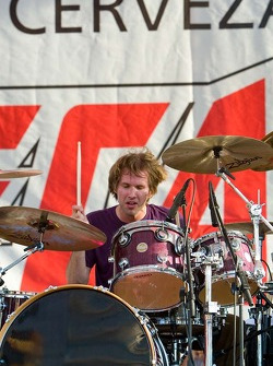 Bad Religion drummer Brooks Wackerman