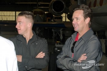 A.J. Allmendinger and Jimmy Vasser