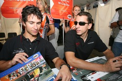 Bruno Junqueira and Justin Wilson