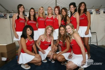 The lovely Molson Canadian girls
