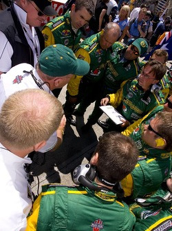 Team Australia huddle