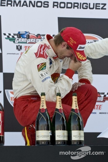 Podium: an emotional Sbastien Bourdais
