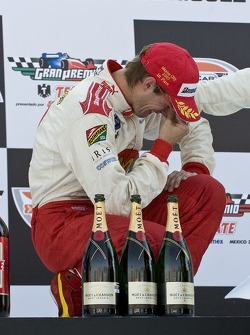Podium: an emotional Sébastien Bourdais