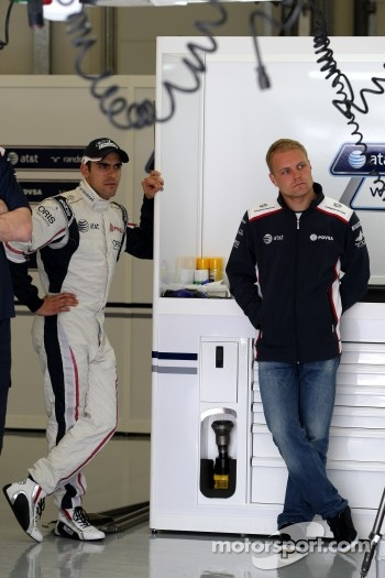 Pastor Maldonado, AT&T Williams, Valtteri Bottas, AT&T Williams